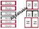 Black & Red Classroom Set - Editable
