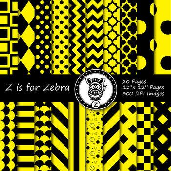 Black / Red dual tone Digital Paper Pack  - CU ok { ZisforZebra}