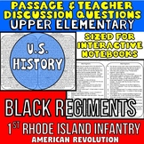 Black Regiments: American Revolution: Passage