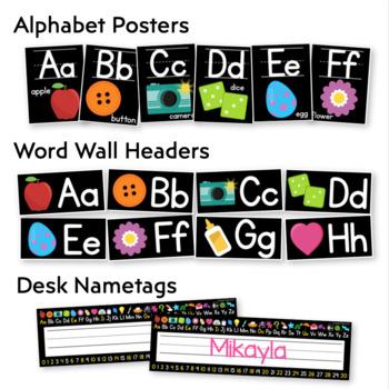 Black Series Classroom Instructional Decor: THE BUNDLE!