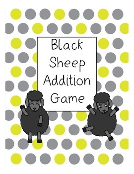 Addition Card Game: Black Sheep
