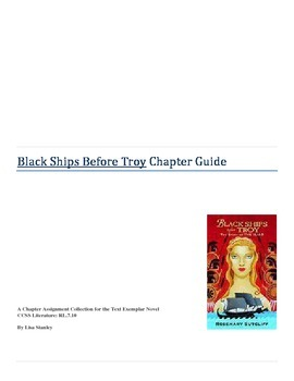 Black Ships Before Troy: CCSS Text Exemplar Novel Study Guide
