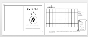 Black Ships Before Troy Passport (Student Incentives)