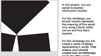 Black Square Challenge Slideshow