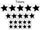 Black Star Token Reinforcer System for Classroom Management