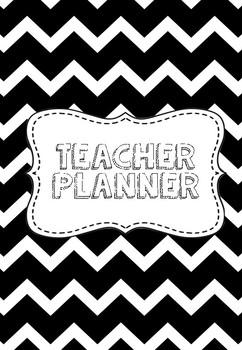 Black Teacher Planner