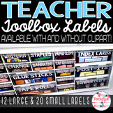 Black Teacher Toolbox LABELS