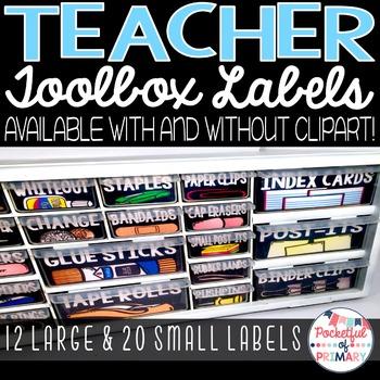 Black Teacher Toolbox LABELS
