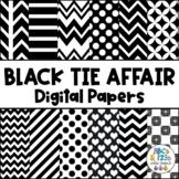 Black Tie Affair Digital Paper Pack FREEBIE