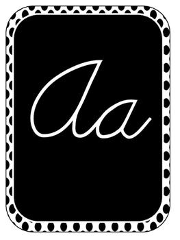 GREAT Cursive Classroom Alphabet