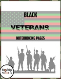 Black Veterans Notebooking Pages