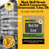 Black Wall Street  Community Building in Greenwood Tulsa Oklahoma