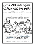 Black & White ABC Letter Chart