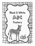 Black & White ABC Posters