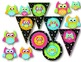 Black & White & Bright OWL Clip Art For Personal/Commercial Use