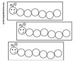 Black & White Caterpillar Learning Game