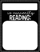 Black & White Currently Reading Tags