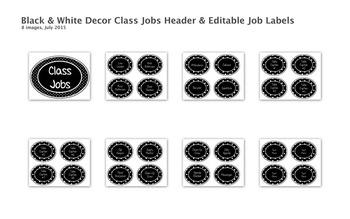 Black & White Decor Bundle