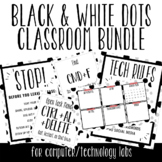 Black & White Dots Themed Bundle