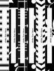 Black & White Decor: Editable Binder Covers & Spines