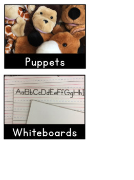 Black & White Editable Classroom Labels