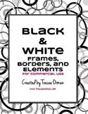 Black & White Graphics Clip Art Package
