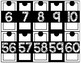 Black & White Number Line