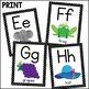 Classroom Decor: Black and White Polka Dot [Alphabet and N