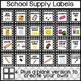 Classroom Decor: Black and White Polka Dot 170+ Page Classroom Bundle