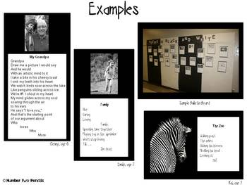 Black & White Picture Poems