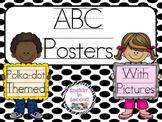 Black & White Polka-Dot Themed ABC