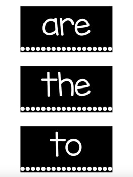 Black & White Reading Wonders Word Wall Cards - Second Grade [EDITABLE]