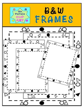 Black & White Rectangular Frames