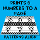 Black & White Series ~ Number Line Wall Display ~ -114 to 245