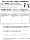 Black. White. Video Worksheet
