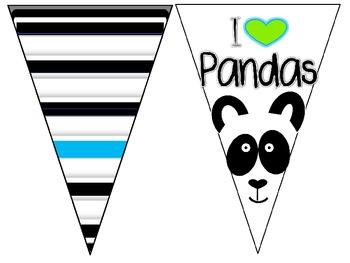 Black, White, and Neon Banners