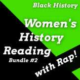 Black Women in History Reading Passage Activities Using Rap Songs