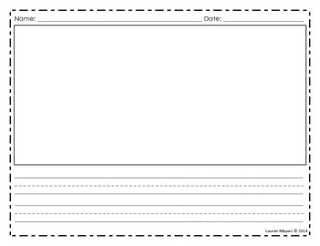 Blank Writing Page