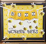 Black & Yellow Bumble Bee Theme Classroom