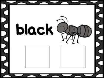 Black-an interactive color book