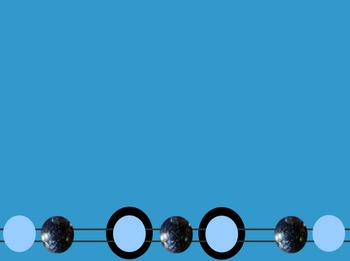Black and Blue Marbles Template (PowerPoint Template)