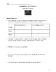 Black and Blue Unit - Vocabulary, Activities, and Assessment