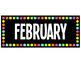 Black and Bright Classroom Calendar Set