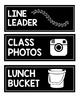 Black and Bright Classroom Job Chart