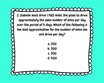 STAAR MATH PREP TASK CARDS Set of 10 (4th Grade) TEKS BASED!