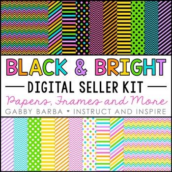 Black and Bright Seller Kit