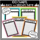 100 Charts Black and Brights Theme