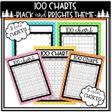 100 Charts Black and Brights Theme