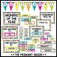 Black and Brights Calendar Set - Weather, Seasons, Daily Math, and more!