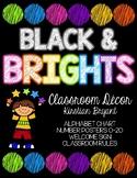 Black and Brights Classroom Decor